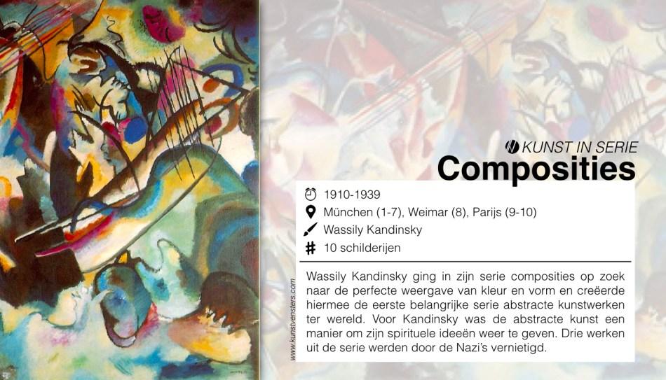 Kunst Serie - Kandinsky - Composities