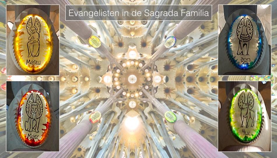 Evangelisten in de Sagrada Familia