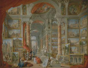 Giovanni Paolo Panini - Modern Rome