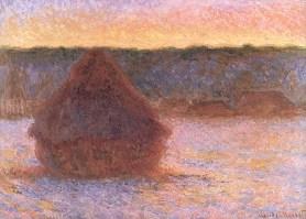 Hooibergen - Claude Monet