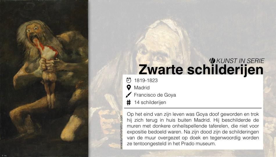Francisco de Goya - Zwarte Schilderijen