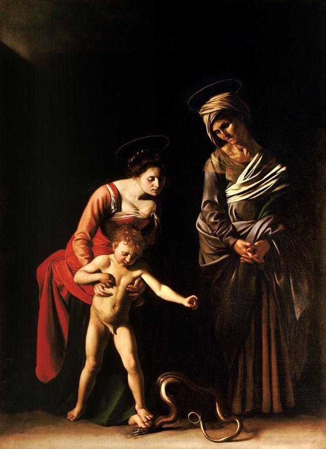 Caravaggio - Anna te Drieën