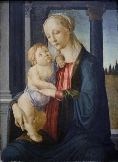 Sandro Boticelli - Madonna met Kind