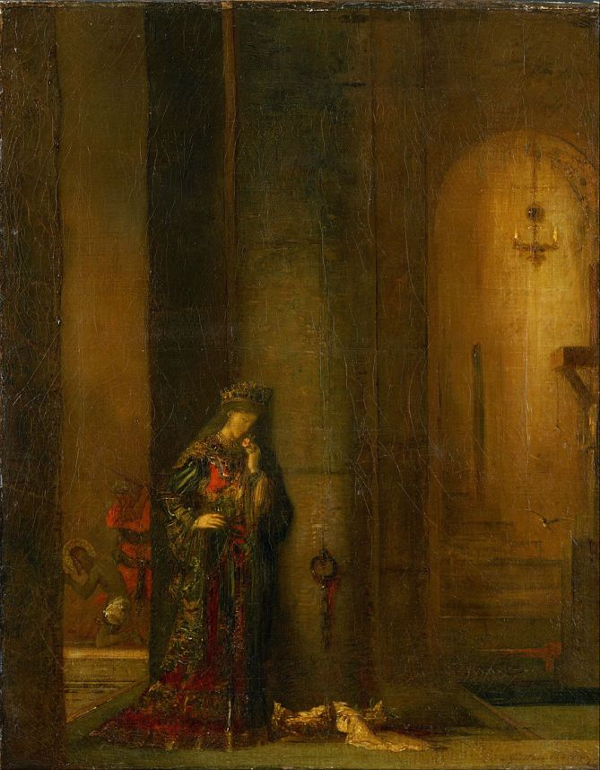 Gustave Moreau - Salomé in de Gevangenis