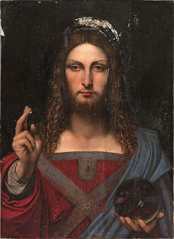 Studio van Da Vinci - Salvator Mundi