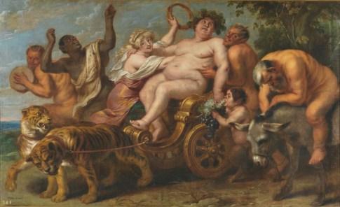 Cornelis de Vos - de Triomf van Bacchus