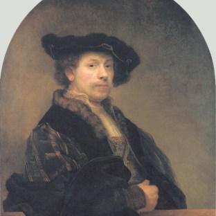 Rembrandt - Zelfportret (1640)