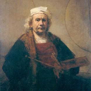 Rembrandt - Zelfportret (1665)