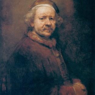 Rembrandt - Zelfportret (1669)