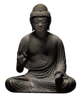 Amida Buddha (11th–12th century), Japan. Gregg Baker Asian Art.