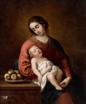 Francisco de Zurbaran - Madonna met Kind