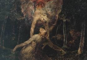 William Blake - Doodsangst in Getsemane