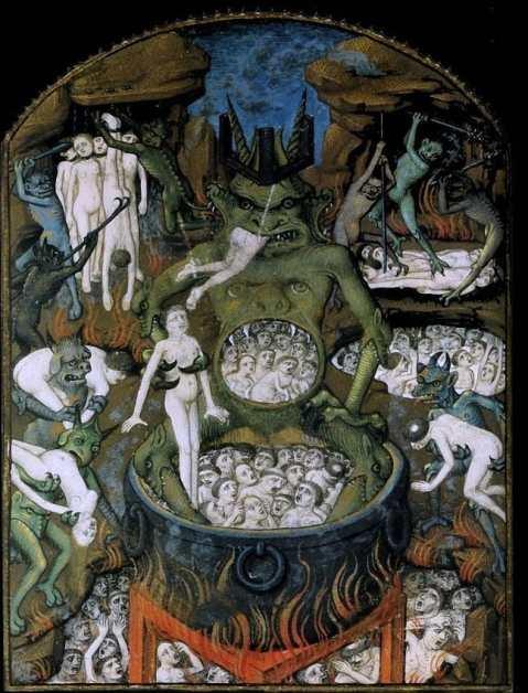 Miniatuur (Anoniem) - Satan