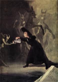 Francisco de Goya - de Behekste Man