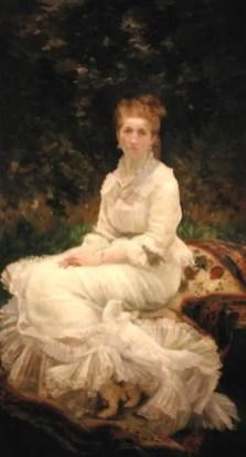 Marie Bracquemond - de Vrouw in het Wit