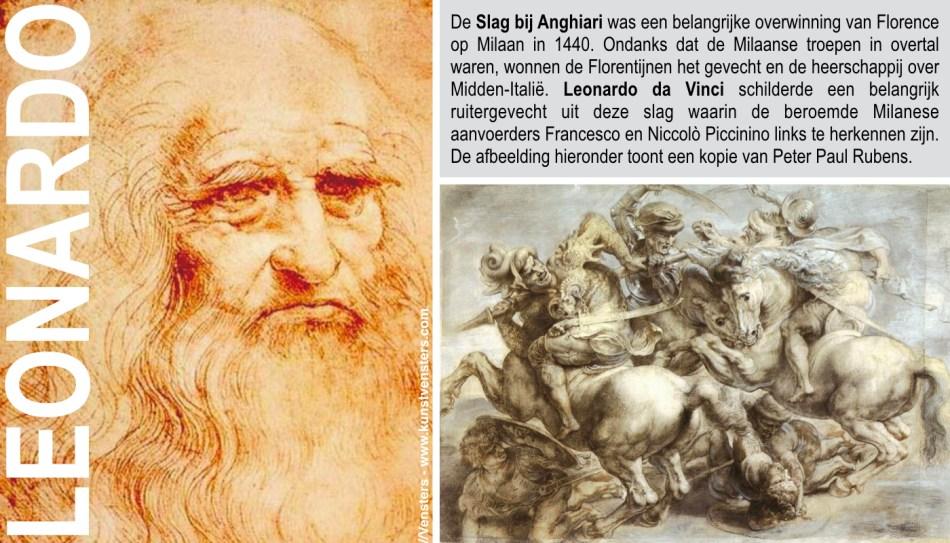 Leonardo - Slag bij Anghiari