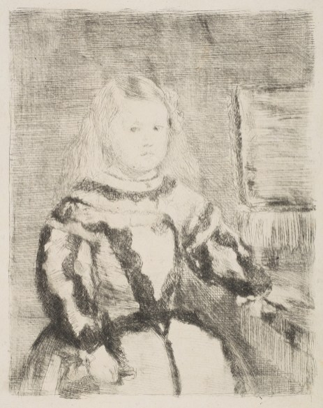 Edgar Degas - Infante Margarita (naar Velazquez)