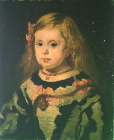 Edouard Manet - Infante Margarita (naar Velazquez)