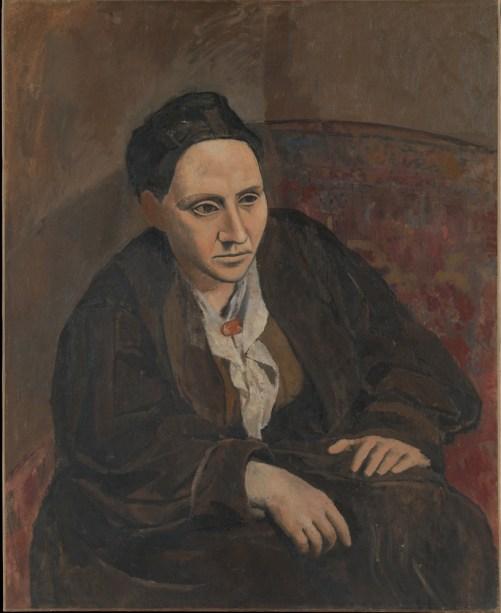 Pablo Picasso - Gertrude Stein