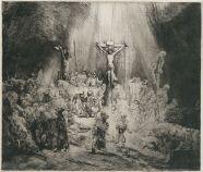 Rembrandt van Rijn - de Drie Kruizen (staat 2)