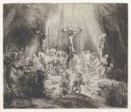 Rembrandt van Rijn - de Drie Kruizen (staat 3)