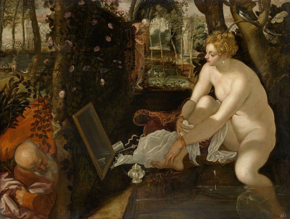 Tintoretto - Susanna en de Ouderen