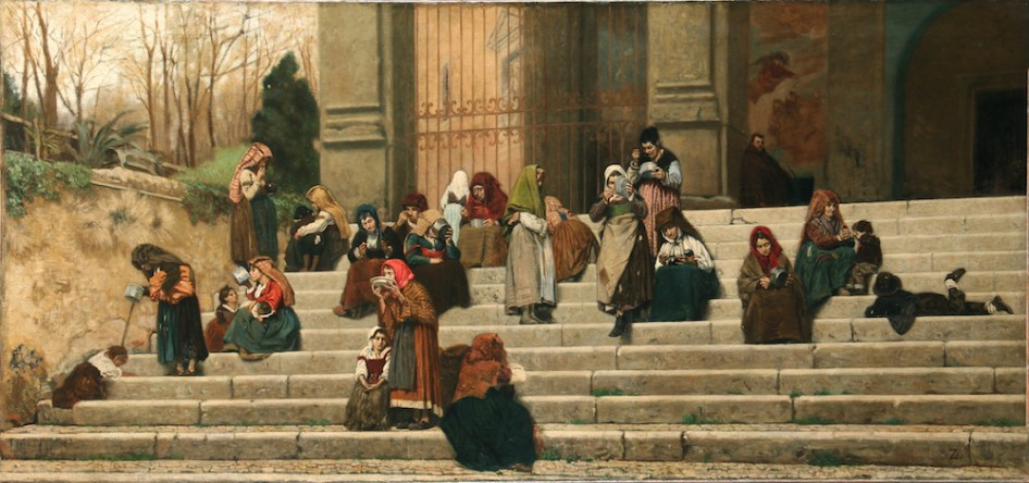 Federico Zandomeneghi - Impressies van Rome