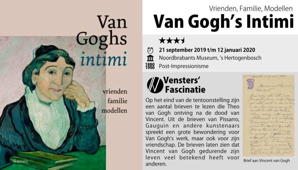 Noordbrabants Museum, Van Gogh Intimi