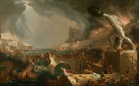 Thomas Cole - 4. Destruction
