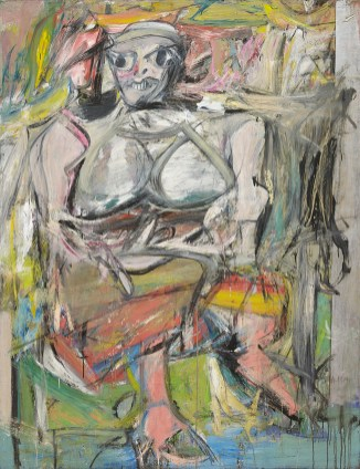 Willem de Kooning - Woman I