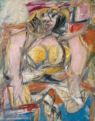 Willem de Kooning - Woman IV