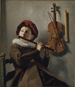 Judith Leyster - de Fluitspelende Jongen