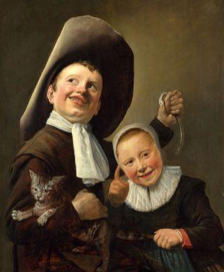 Judith Leyster - Twee Kinderen