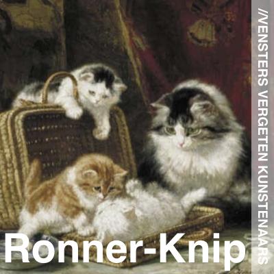 Vergeten Kunstenaars Henriette Ronner Knip