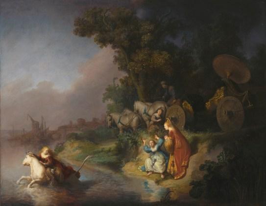 Rembrandt van Rijn - De Roof van Europa, The J. Paul Getty Museum, Los Angeles