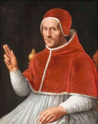 Jan van Scorel - Paus Adrianus VI