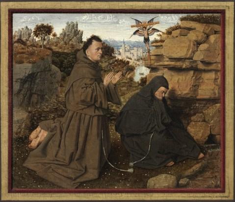 Jan van Eyck - de Heilige Franciscus