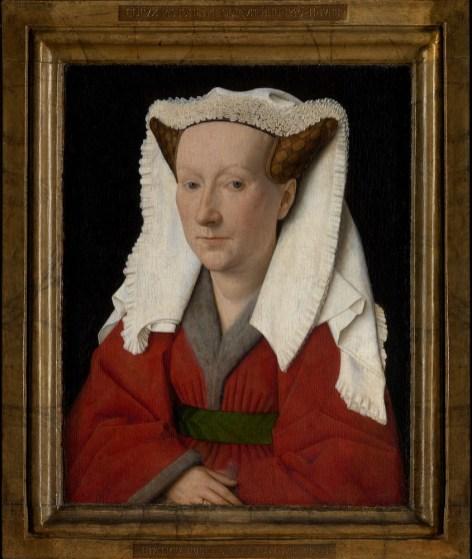 Jan van Eyck - Portret van Margareta