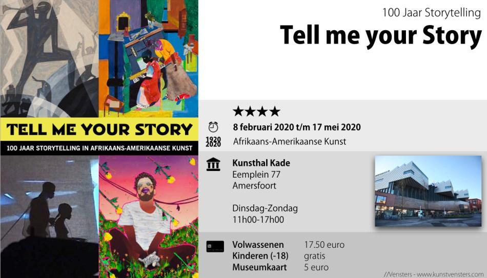 Tell me your Story Kunsthal kade