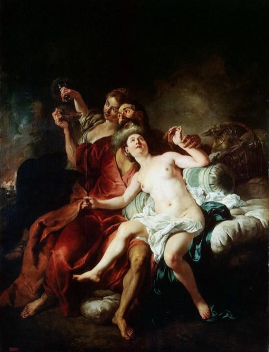 Jean Francois de Troyes - Lot en zijn Dochters