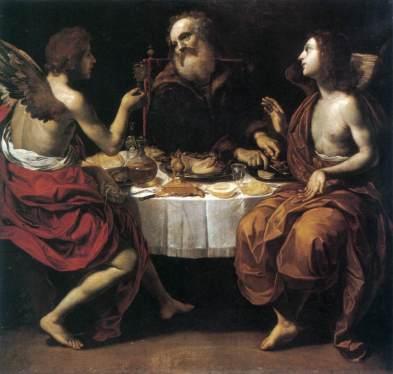 Rutilio Manetti - Lot en Twee Engelen