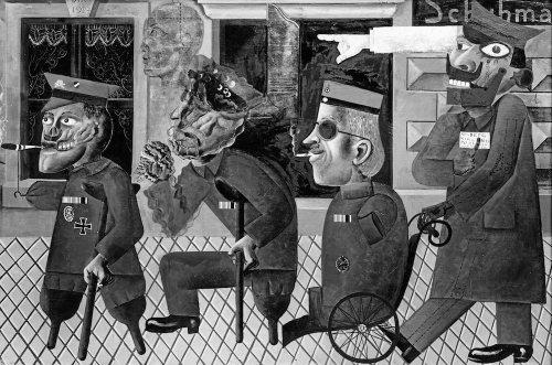 Otto Dix - Kreupelen uit de Oorlog