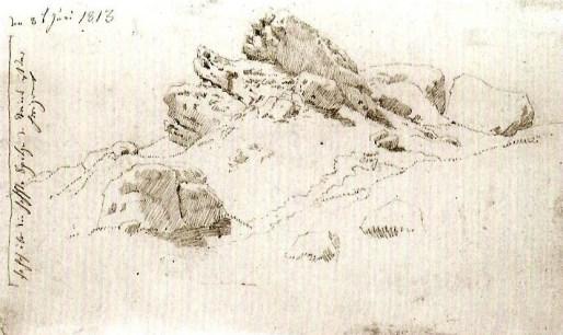 Caspar David Friedrich - Schets