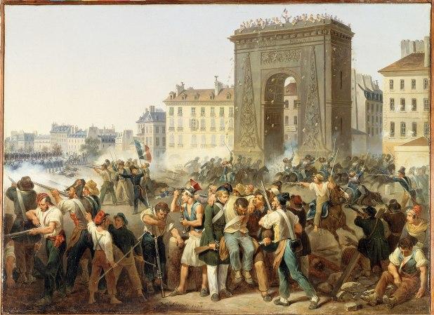 Hippolyte Lecomte - Combat de la Porte Saint-Denis