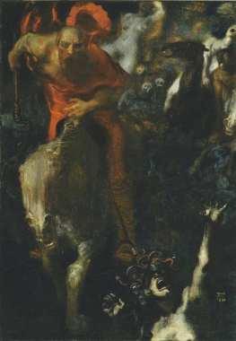 Franz von Stuck - Wilde Jacht