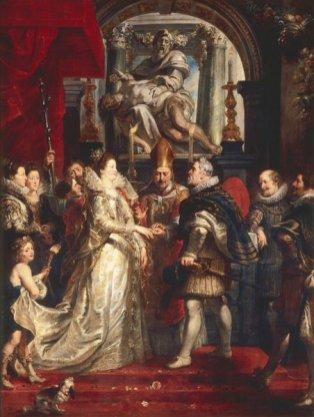 Peter Paul Rubens - het Huwelijk op afstand