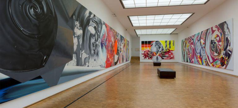 """Besuch der Ausstellung """"James Rosenquist – Eintauchen ins Bild"""" im Museum Ludwig"""
