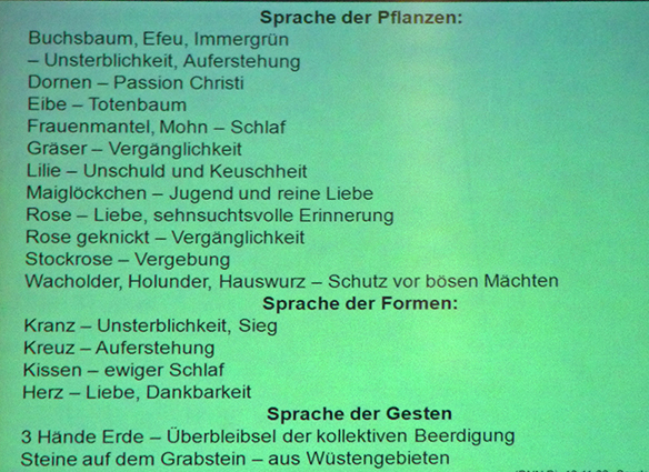 Kunstverein Hoyerswerda  Die Sprache der Grabsteine