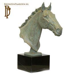 Paard beeld brons