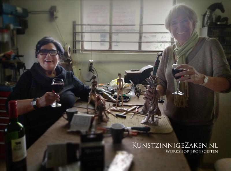 Workshop bronsgieten beelden maken